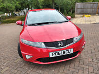 Honda Civic 1.8 Petrol i-VTEC 5dr. 138BHP- In Very good condition!