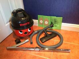Refurbished Henry Hoover Vacuum Cleaner With Accessories
