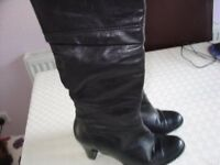 Gabor leather boots