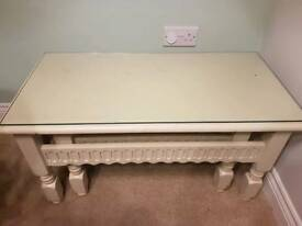 shabby chic stacking coffee tables