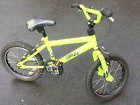 "Scorpion Maul 16"" BMX Bike (Green)"