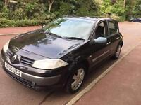 RENAULT MEGANE DYNAMIQUE 5 DOOR 1.6 2005 LONG MOT DRIVES LOVELY