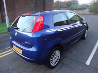 2009 FIAT GRADE PUNTO , SOME SERVICE HISTORY, NATION WIDE WARRANTY AVAILABLE 2 FORMER OWNERS