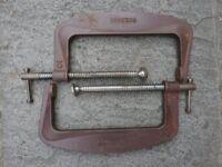 """10inch """"G"""" CLAMPS"""