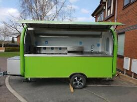 Catering Trailer Burger Van Pizza Trailer 3400x1650x2300