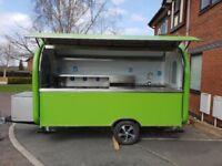 Catering Trailer Burger Van Pizza Trailer 3400x1650x2300