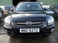 kia sportage 2.0 4x4 petrol black full leather alloys full years mot
