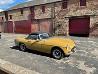 Classic MGB Roadster for sale.