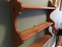 Pitch Pine Shelves (Antique)