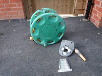 Hozelock 25m garden hose and reel