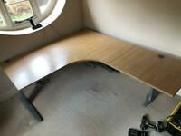 Fully electric sit/stand desk