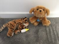 Little live pets puppy and tiger
