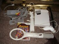 NINTENDO WII WITH GAME COMPLETE