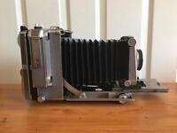 Linhof Super Technika IV 4x5 Camera matching 150mm lens
