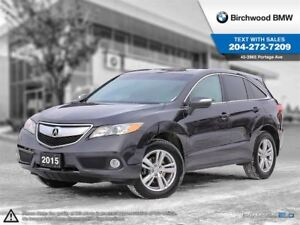 2015 Acura RDX Tech Pkg Local One Owner! Clean Carproof!
