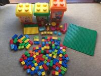 LEGO Duplo - Over 175 pieces! Plus 3 stackable storage boxes.