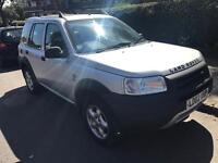 LAND ROVER FREELANDER ES TD4 2002 WITH FUUL SERVICE HISTORY