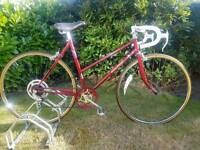 """Vintage 1980's Raleigh Prelude Ladies Racing Bike 21"""" Five Speed Excellent Condition"""