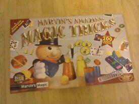 MARVINS AMAZING MAGIC TRICKS SET