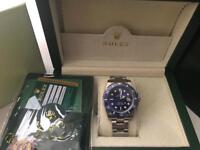 Rolex Submariner Blue 116619 LB