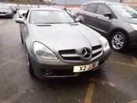 MERCEDES-BENZ SLK SLK 200K 2dr Tip Auto (silver) 2009