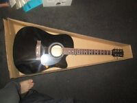 New Acoustic Guitar with carry bag