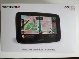 TomTom Go 520 WiFi (New, boxed and sealed)
