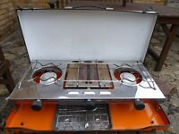 SMS Camping Cooker with grill and Gaz Bottle