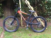 Kona Stinky - full suspension mountain bike