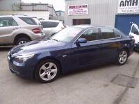 BMW 520D SE ,facelift model,4 door saloon,6 speed ,sports interior,full MOT,clean tidy car,GP07LYR
