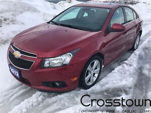 2012 Chevrolet Cruze LTZ TURBO/HEATED SEATS/BLUETOOTH/SUNROOF