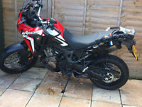 STOLEN AFRICA TWIN CRF1000L RED COLOUR