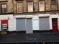 SHOP TO LET - SOUTHSIDE (GLASGOW) - NO DEPOSIT