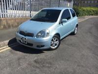 2004 TOYOTA YARIS 1.3 COLOUR COLLECTION 3 DOOR 1 LADY OWNER