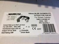 Extractor fan kit