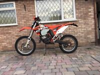 Ktm exc 125 2013 road legal motocross not Honda yamaha Kawasaki Suzuki