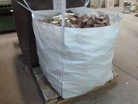 TOP QUALITY BULK BAGS OF KILN DRIED HARDWOOD MAHOGANY, OAK & TULIPWOOD ETC, FIREWOOD FOR STOVES
