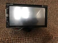 Double DIN DVD-VCD-CD player