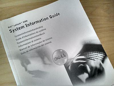 Latitudine Di Sistema Informazioni Guida Dell X300 Notebook