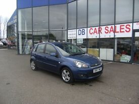 2007 07 FORD FIESTA 1.2 ZETEC CLIMATE 16V 5D 78 BHP **** GUARANTEED FINANCE ****PART EX WELCOME***