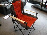 Folding Chair Quest Comfort Plus - Paprika
