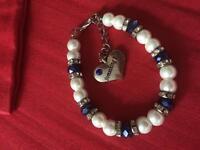Bracelate - something blue