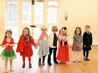 Children's music and drama classes 4+ Finsbury Park, Saturday mornings