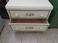 Stunning Antique very nice solid wooden chest-Draws
