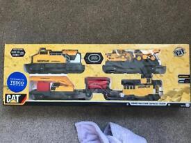 CAT Construction train set, boxed & unopened