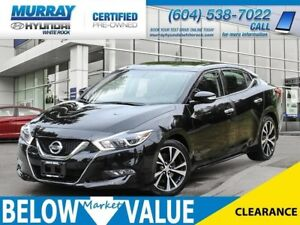 2018 Nissan Maxima SL**LEATHER**NAVI**REAR CAMERA**