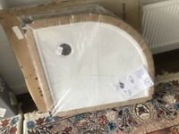 BRAND NEW Zamori Quadrant Shower Tray L