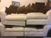 Two 3 Seater Sofa's For Sale