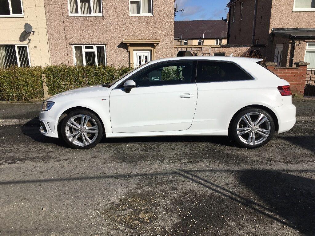 Audi A3 S Line Glacier White In Camberley Surrey