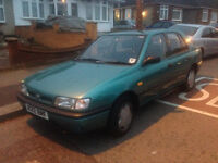 nissan sunny automatic , 11 month mot , tax and insurance